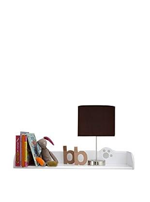 Office Ideas Wandregal Micio weiß 13 x 77 x 20