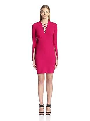 Alexia Admor Women's Lace Up Mini Dress