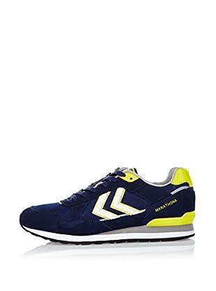 Hummel Sneaker Marathona Low (schwarzblau)