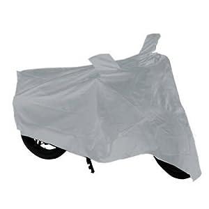 Bike Body Cover for Honda Activa - Silver
