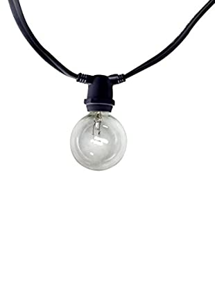 String Light Company Savannah Series 20-Light Indoor/Outdoor String, Clear