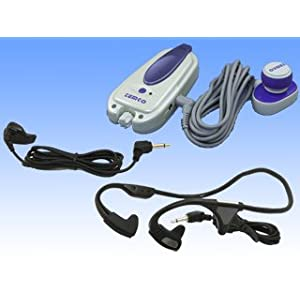【クリックで詳細表示】骨伝導音声増幅器 きくちゃん HA301-KJF: 家電・カメラ