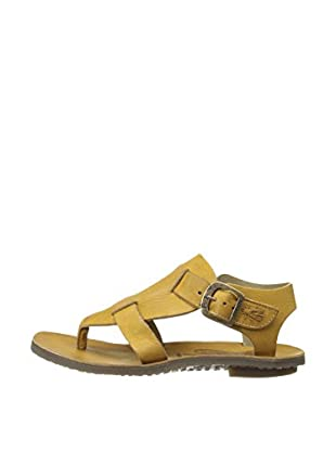 Fly London Sandalias Bany Thong (Mostaza)
