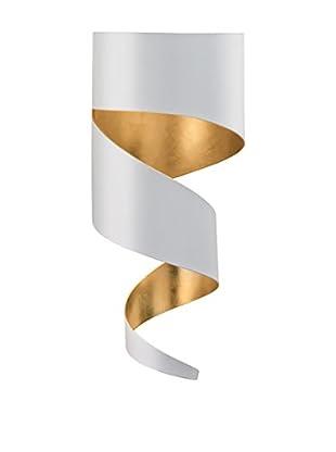Gibas Wandleuchte Remì weiß/gold