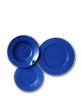Servizio Tavola Trendy Ala 18 Pezzi azzurro