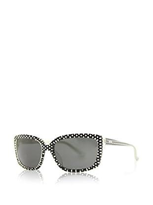 Moschino Gafas de Sol 69202 (55 mm) Negro / Blanco