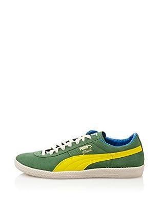 Puma Zapatillas Puma Brasil Football Vntg (Verde / Amarillo)
