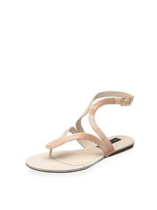 STEVEN by Steve Madden Women's Resorts Thong Sandal (Blush Multi)