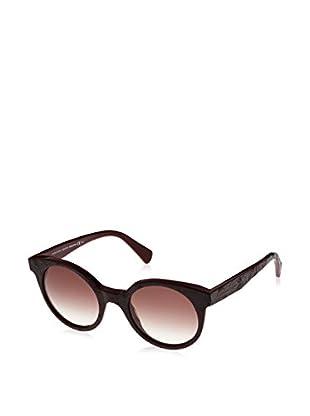 Alexander McQueen Gafas de Sol AMQ4275/S (49 mm) Rojo