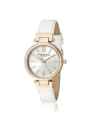 Stührling Women's 956.03 Classique 956 White/Silver Stainless Steel Watch