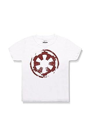 Star Wars Camiseta Manga Corta Distressed Empire Logo