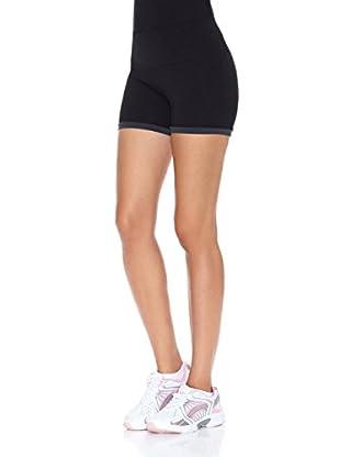 Naffta Short Active / Gym (Negro / Gris)