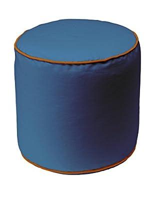 13casa Puff Bicolor B1 Azul