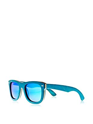 Earth Wood Sunglasses Gafas de Sol Wood Malibu (52 mm) Azul