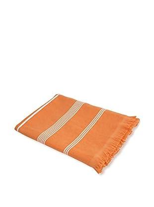 bambeco Coastal Summer Beach Towel, Tangerine
