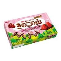 明治 きのこの山いちごショコラ 66g ×10個