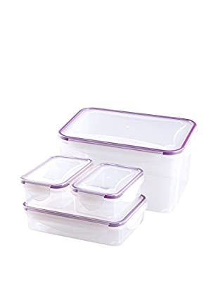 JOCCA Set Recipiente Hermético 4 Uds. 4467