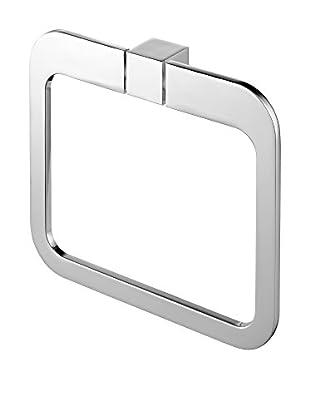 Bisk Toallero Futura Ring cromo