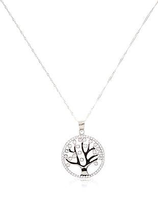 Silver One Conjunto de cadena y colgante  plata de ley 925 milésimas