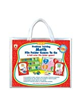 Carson-Dellosa 140033 Problem Solving Math Game, w/ 6 Games, Grade 3