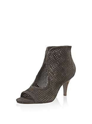 Sofie Schnoor Ankle Boot Suede Sandal Stacked Heel