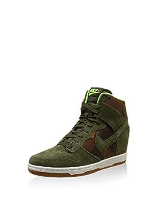 Nike Zapatillas de cuña W Dunk Ski Hi Print Int
