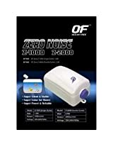 ZERO NOISE Z-1000 OCEAN FREE SINGLE OUTLET AIRPUMP,1.8W,1200CC/MIN