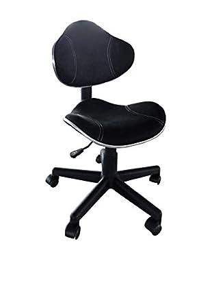Office Ideas Bürostuhl Lawyer 28 schwarz 57 x 58 x 85/94H cm