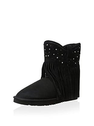 Koolaburra Women's Haley Starlight Ankle Boot (Black)