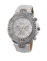Exotica White Dial Analogue Watch for Men (EFN-07-White)