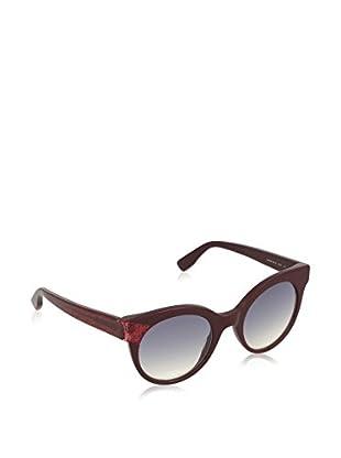 ZZ-Jimmy Choo Gafas de Sol MIRTA/S U3 Q51 49_Q51 (49 mm) Rojo