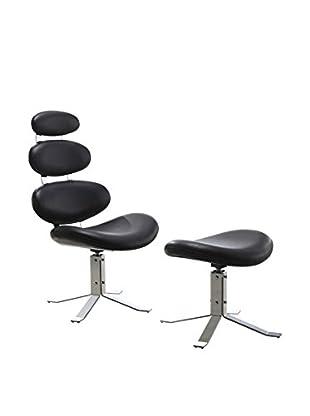 Ceets Fossil Leisure Chair, Black