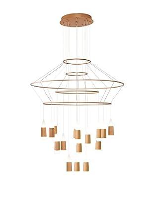 Light&Design Lámpara De Suspensión LED Wood Madera