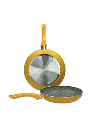 Tognana  Pfanne 2er Set Mat Stone orange