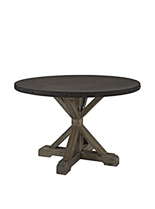 Modway Stitch Wood Top Dining Table, Brown