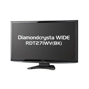三菱電機(ディスプレイ) 27型ワイド液晶ディスプレイ (ブラック) RDT271WV(BK)