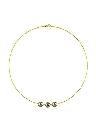 Pearl Addict Collar Dorado