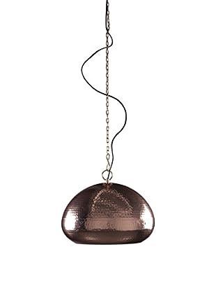 Deckenlampe Hammered Oval kupfer