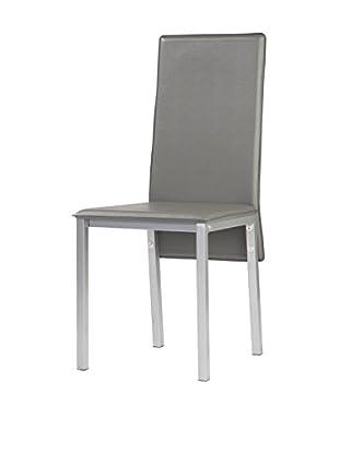 kitchen Furniture Set Silla 4 Uds. Gris