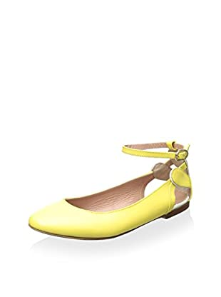 RED Valentino Women's Flat with Ankle Strap
