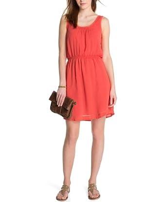 ESPRIT Vestido Nina (Rojo)