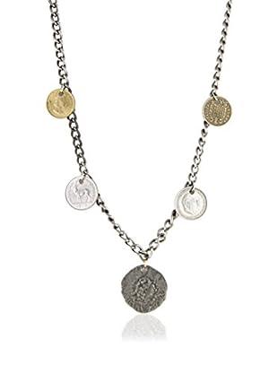 Ettika Silver-Tone Sunken Treasures Vintage Coin Necklace