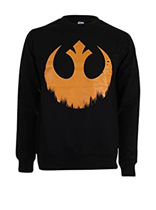 Star Wars Sudadera Distressed Rebel Logo