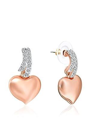 Saint Francis Crystals Ohrringe rosévergoldet/silberfarben