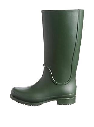 Crocs Botas de Agua Wellie Rain WCR (Verde)