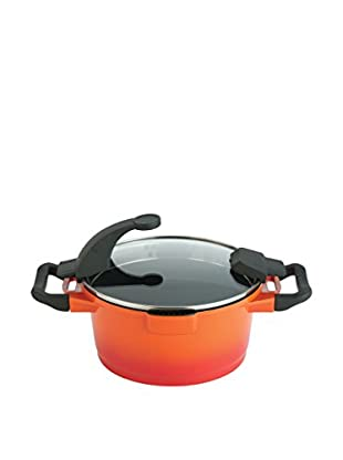 BergHOFF Virgo 7.7-Qt. Non-Stick Stock Pot, Red