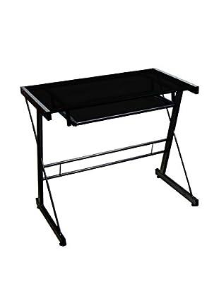 Walker Edison Computer Desk, Black