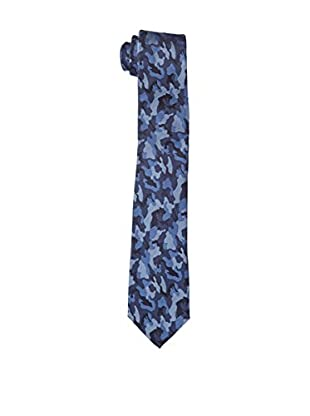 Carlo Visconti Corbata Camuflaje Azul