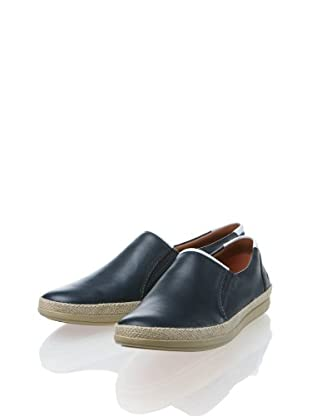 Clarks Leder Loafer Mask Step (Blau)