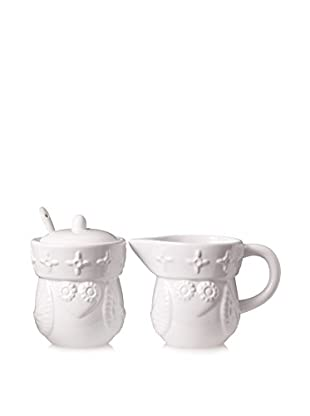 Happy Chic by Jonathan Adler Lola Owl Sugar & Creamer Set, White